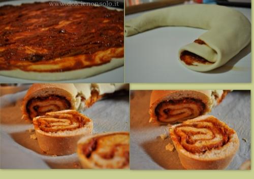 Rotolo calabrese con sardella piccante o dolce