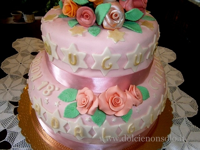 Amato Torta di compleanno - Dolci e non solo TR83