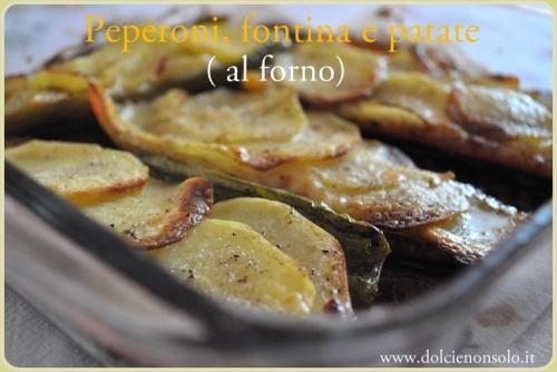 Peperoni, fontina e patate