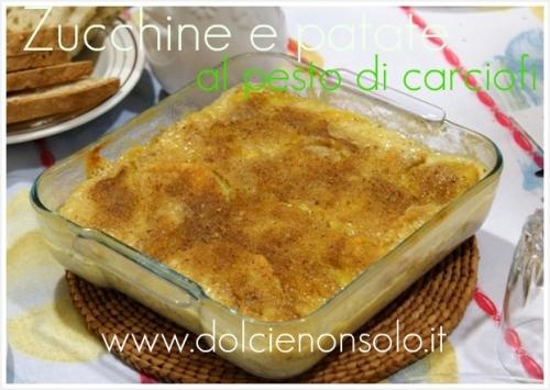 Zucchine e patate al pesto di carciofi 4.JPG