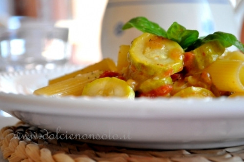 Pasta e zucchine al forno-3.JPG