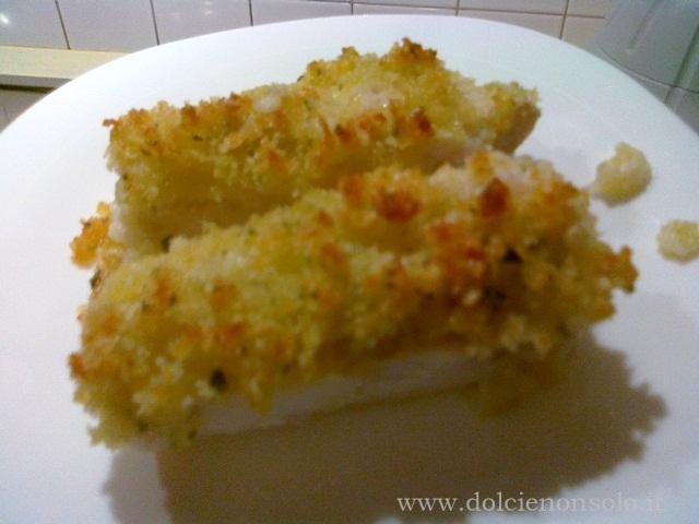 Merluzzo gratinato dolci e non solo - Cucinare merluzzo surgelato ...