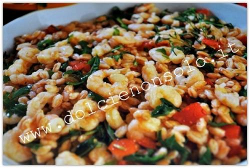 ricette con il farro,ricette gustose,piatti freddi