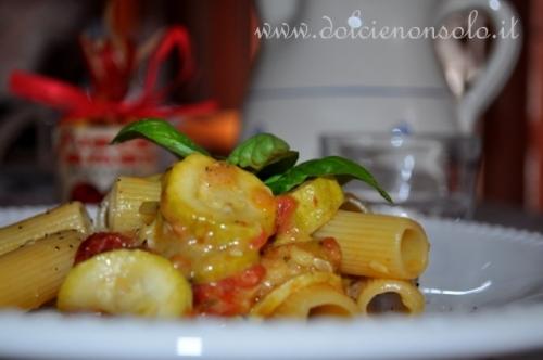 Pasta e zucchine al forno.JPG